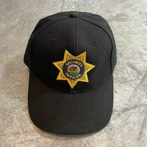 Vintage Security Officer Otto Cap Snapback Hat